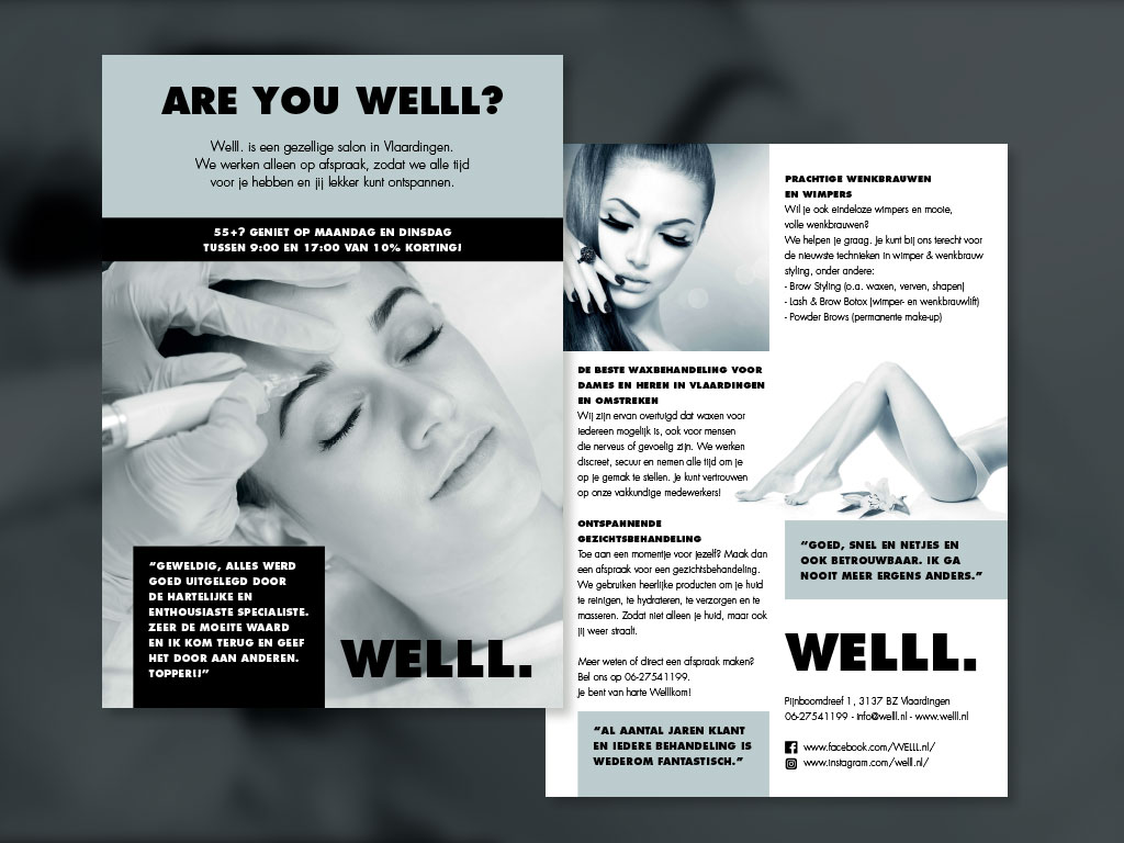 flyer ontwerp tekst Piccalilly